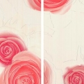 Rosen Cereja (Vermelho) Mix2 70x100 Dreams Love Ceramic Tiles