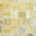 MOS.POLISHED GOLDEN ONIYX 5X5 30.5X30.5 Natural Stone Colori Viva